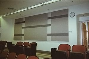 Wall Panel in auditorium